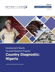 Nigeria Country Diagnostic