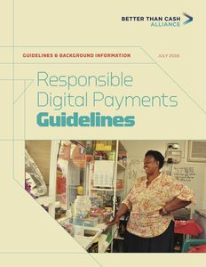 Responsible Digital Payments Guidelines (Full Report)