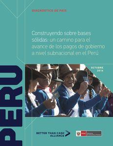 Diagnóstico de País: Perú