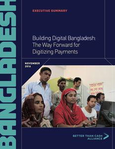 Country Diagnostic: Bangladesh Executive Summary