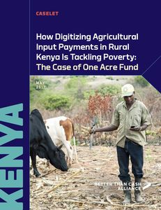 How Digitizing Agricultural Input Payments in Rural Kenya Is Tackling Poverty Caselet