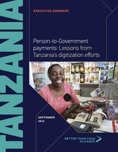 Tanzania Executive Summary