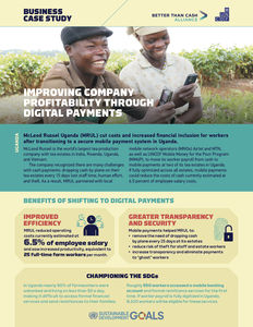McLeod Russel / MM4P ✪ Improving profitability through digital payments