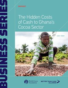 The Hidden Costs of Cash to Ghana's Cocoa Sector