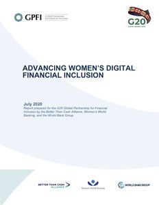 Advancing Women's Digital Financial Inclusion