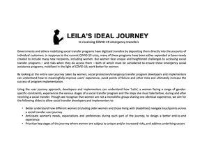 Leila's Ideal Journey