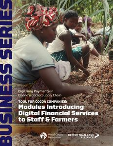 Modules Introducing Digital Financial Services to Staff & Farmers
