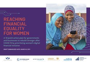 Reaching Financial Equality for Women