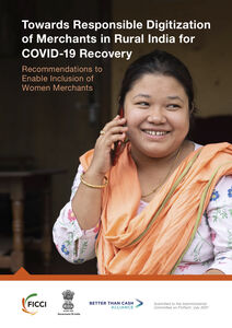 Towards Responsible Digitization of Merchants in Rural India for COVID-19 Recovery