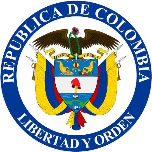 republic of Colombia logo