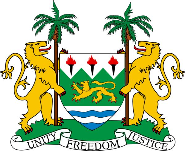 Republic of Sierra Leone logo