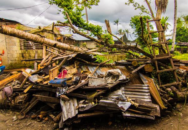 Destroyed Home Typhoon Yolanda